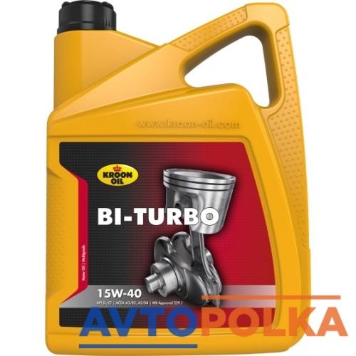 Bi-Turbo 15W-40 5литров
